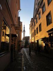 Солнышко в таллинских переулочках
