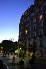 Париж. Вечерний Монмартр. Май