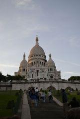 Париж. Вечерний Сакре-Кёр