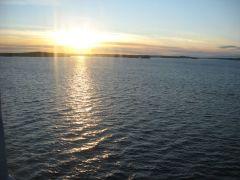 восход на Финском заливе