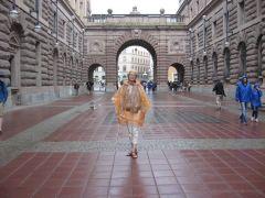 Швеция, Стокгольм, пешеходная улица Дротнинггатан