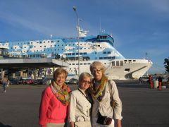 паром Швеция-Финляндия (с сестрёнкой и подругой)