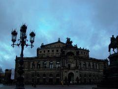 Дрезден.Оперный театр.
