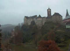 Замок Локет,Чехия