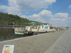 Кораблики на р. Влтаве