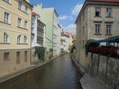 Один из каналов Праги