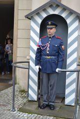 Постовой в Праге